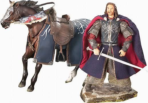 LOTRARAGORN & BREGODLX HORSE & RIDER6