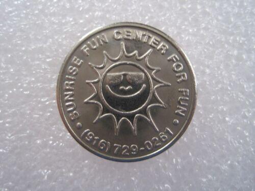 CLOSED Token Coin 010C Sunrise Fun Center Citrus Hts California