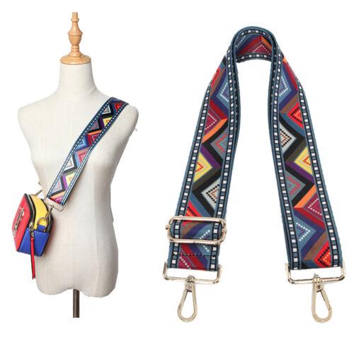 Wide Canvas Adjustable Shoulder Bag Strap for Travel Handbag Replacement 135cm