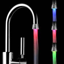 LED Hahn Wasserhahn Keine Batterie notwendig Armatur Aufsatz Temperaturabhängig