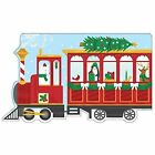 Christmas Train Shaped Cover Sticky Notes by Galison 9780735343634