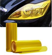 30 x 100 cm Golden Yellow faro tinta pellicola nebbia TAIL LIGHTS tinteggiatura AUTO Wrap