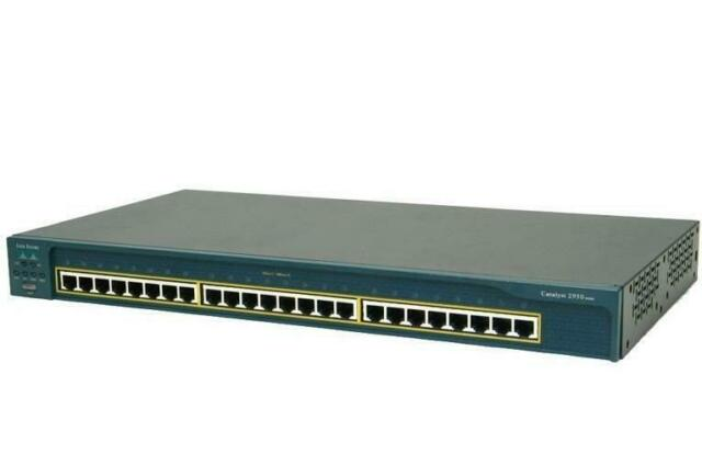 Cisco 2950 Séries 24-Port Interrupteur WS-C2950-24, Occasion, Testé