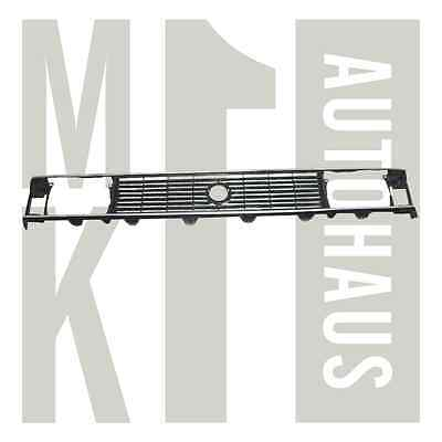 Vw Mk1 North American Rabbit & Caddy 1980-1984 Grille NEW BLACK/SILVER Grill