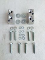 ESCORT MK1/MK2 ALLOY GEARBOX LOWERING BLOCKS/ PINTO CONVERSION & FITTING BOLTS