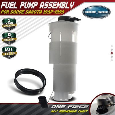 A-Premium Electric Fuel Pump Module Assembly for Dodge Dakota 1997-1999 2.5L 3.9L 5.2L 5.9L 15 Gallon Tank Only E7114M