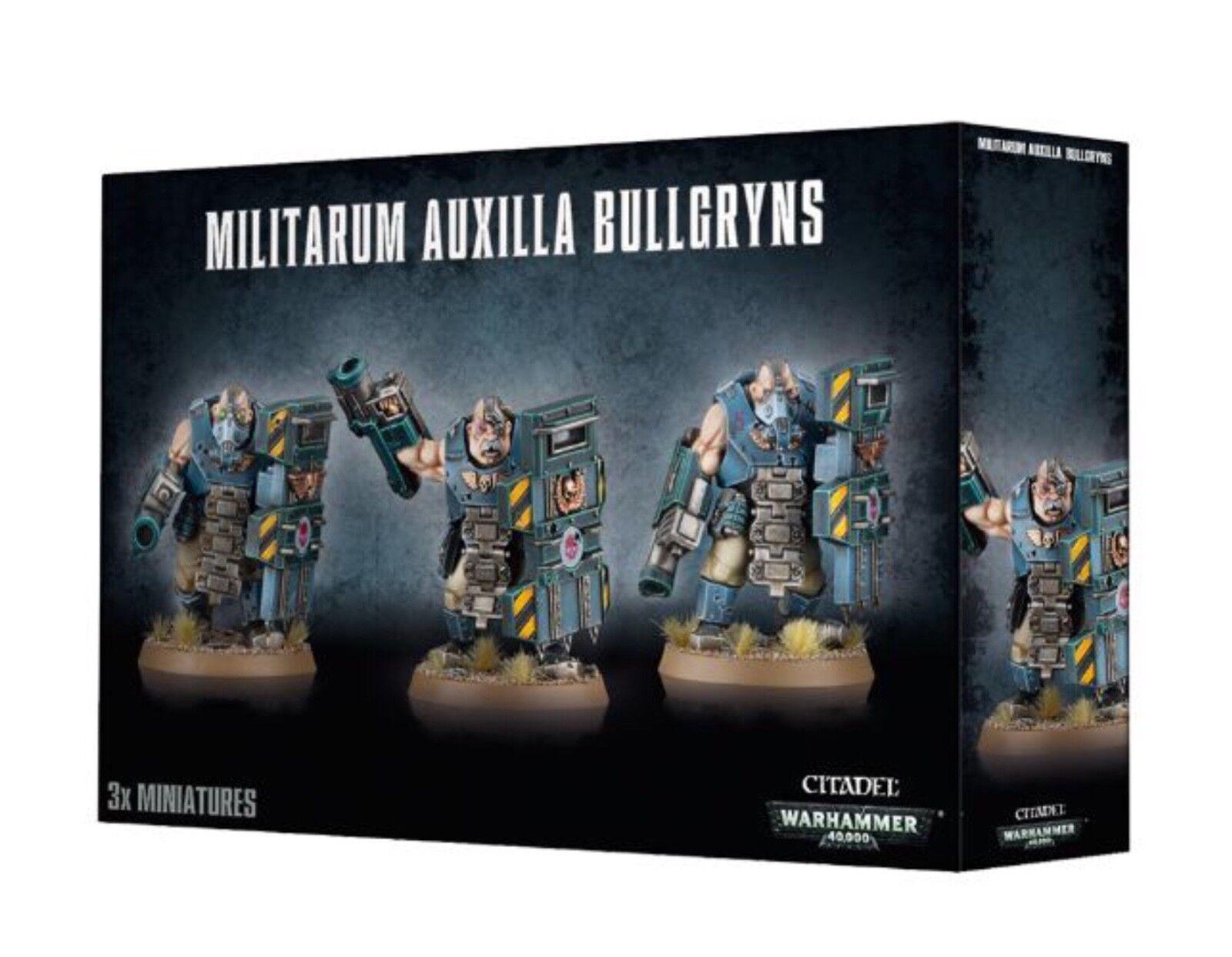 Warhammer 40k Astra Militarum  bullgryns Nuevo en Caja (47-14)