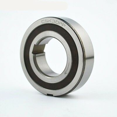 CSK30PP 30mm Sprag Clutch One Way Bearing Internal /& External Keyways 30x62x16mm