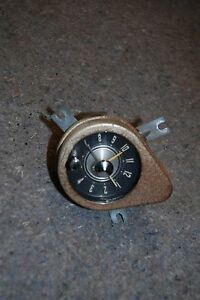 1957 58 Chrysler Imperial Dash Clock Assembly Nice