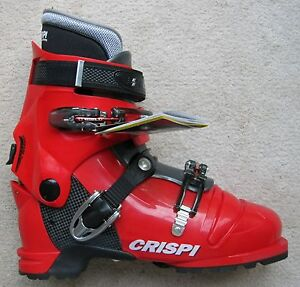 NEW-CRISPI-DIABLO-MS-RED-GREY-THERMO-AT-ALPINE-TOURING-BOOTS-31-0