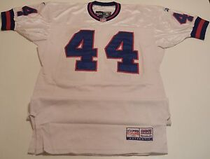 premium selection 61d30 3d38f Details about 1997 New York Giants Robert Massey Road Jersey MEARS Letter