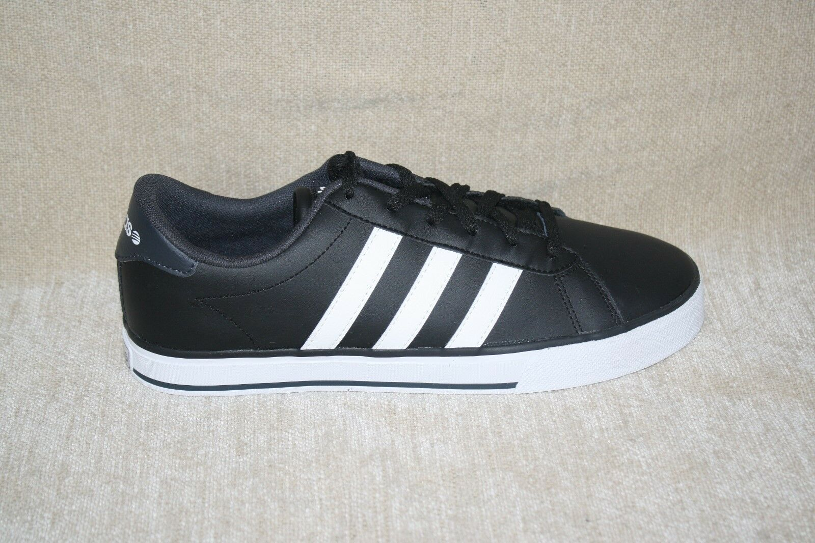 MENS ADIDAS NEO CLOUDFOAM ADVANTAGE BLACK AND WHITE SNEAKERS US SIZE 10 Price reduction Cheap women's shoes women's shoes