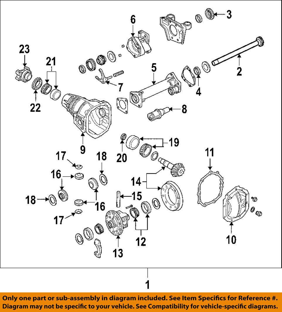 GM OEM Front-Axle Seals 15286593