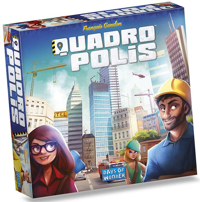 Quadropolis gioco poiché Tavolo Asterion