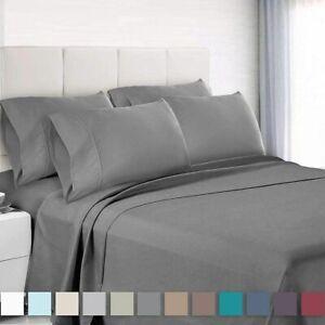 6-Piece-Bedroom-Bed-Sheet-Set-3000-Thread-Count-Luxury-Comfort-Deep-Pocket