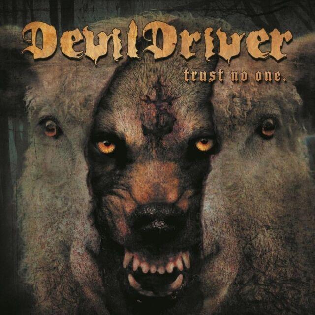 Trust No One [+2 Bonus Tracks] DEVILDRIVER  CD ( FREE SHIPPING )devil driver