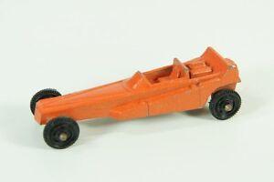 Vintage Tootsietoy Orange Wedge dragster Nice USA car