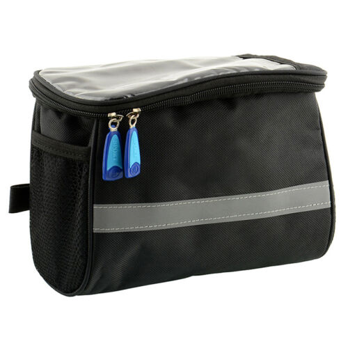 Bicycle Cycling Outdoor Front Basket Pannier Frame Tube Bag Pouch\