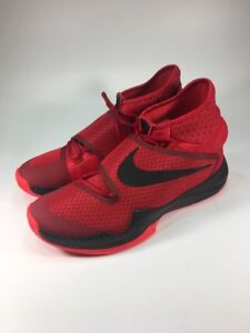 huge discount f3977 c66dd Image is loading NEW-NIKE-HYPERREV-2016-RED-BLACK-SHOES-820224-