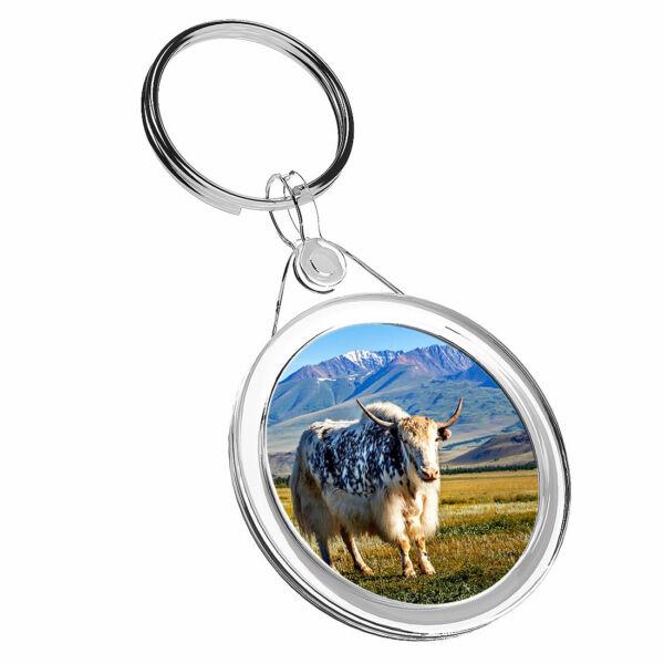 1 Montagne Di Allevamento X Bull-portachiavi Ir02 Mamma Papà Bambini Compleanno Regalo #16541