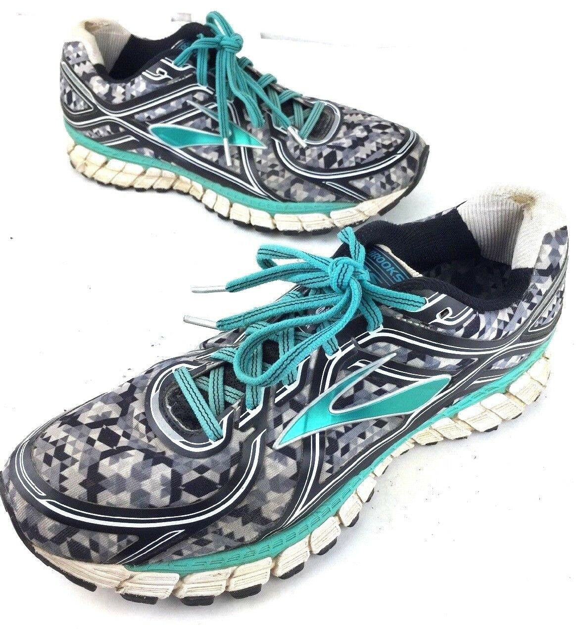Brooks GTS 16 Adrenaline Military Como Running shoes sneakers Women's size 11