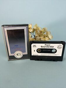 Pepsi Band Aid Hits Cassette UK Pressing Rare PBC 0079