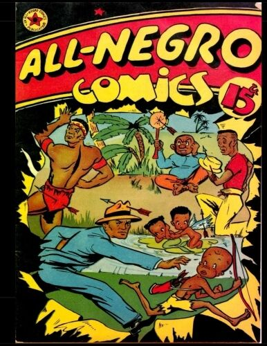 All Negro Comics 1 Jun 1947 All Negro Comics For Sale Online Ebay