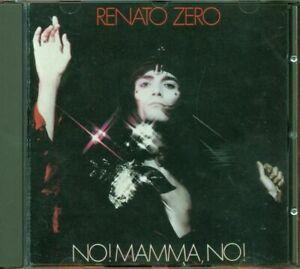 Renato-Zero-No-Mamma-No-Vecchia-Stampa-Rca-Cd-Ottimo