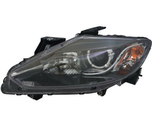 Halogen headlight Assembly NEW Left Driver Side for 2013-2015 Mazda CX9 CX-9