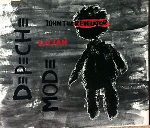 CD-SINGLE-DEPECHE-MODE-JOHN-THE-REVELATOR-LILIAN-LIMITED-EDITION-COMME-NEUF