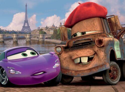 48 Piece Boys Kids Disney Pixar Cars Tokyo Paris Jigsaw Puzzle Trefl 2 In 1 24