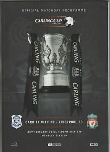 Orig.PRG ENGLAND League Cup 2011/12 FINALE CARDIFF CITY - LIVERPOOL FC ! TOP - Deutschland - Orig.PRG ENGLAND League Cup 2011/12 FINALE CARDIFF CITY - LIVERPOOL FC ! TOP - Deutschland