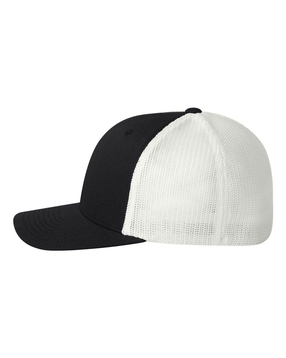 200 flexfit trucker cap fitted mesh baseball hats 6511 one