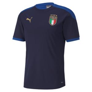 PUMA FIGC ITALIA TRAINING TEE MAGLIA DA CALCIO DA ADULTO allenamento nazionale