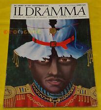 IL DRAMMA 1964 n. 336 - Copertina Giovanni Macciotta - Opere: vedi inserzione