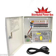 18Ch 12V 20A DC Distribute Power Box 4K CCTV Security Camera Surveillance System