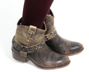 Westernstiefel Cowboystiefel Stiefeletten Line Dance Catalan Style Frye 37,5 -38