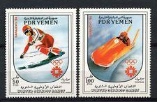 Yemen PDR 1983 SG#313-4 Winter Olympic Games MNH Set #A59303