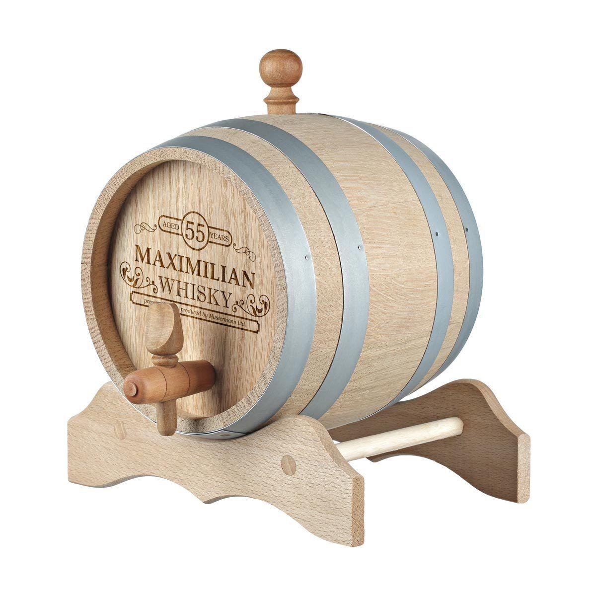 Holzfass Whiskyfass inkl. Gravur Motiv produced by