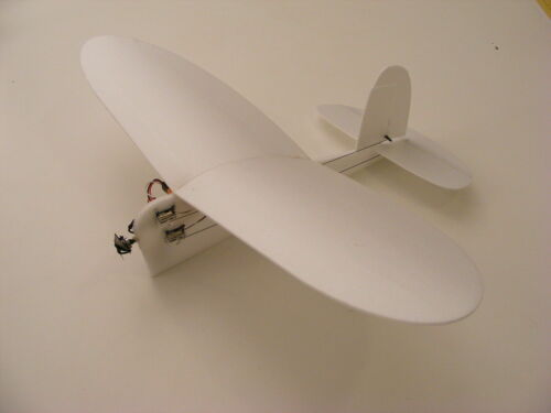 """""""Slowly"""" RC indoor park flyer electric airplane kit"""