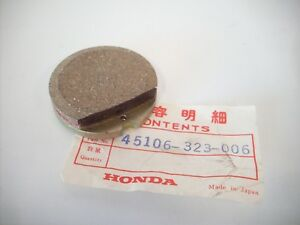 Honda CB 750 Four K0 K1 K2 K3 K4 K5 K6 Original Bremslbelag Satz Bremsbeläge vor