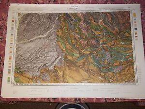 Castellane Carte No 224 Geologique Topographique 1 80 000 2e Edition Ebay