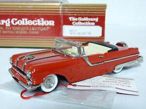 Goldvarg-5-1-43-1955-Pontiac-Star-Chief-Convertible-Handmade-White-Metal-Model