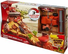 Disney Pixar Cars Escape From Frank Track Playset with Lightning McQueen