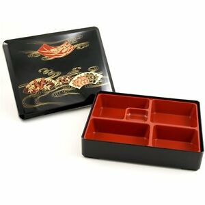 bento lunch box set for adults with traditional removable tray ebay. Black Bedroom Furniture Sets. Home Design Ideas
