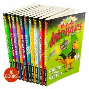 Steve-Cole-Astrosaurs-Series-Collection-10-Books-Set-Volume-1-10-New-Pack