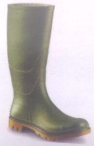 Stivali di gomma, da donna, misura 39 Verde Giardino Stivali