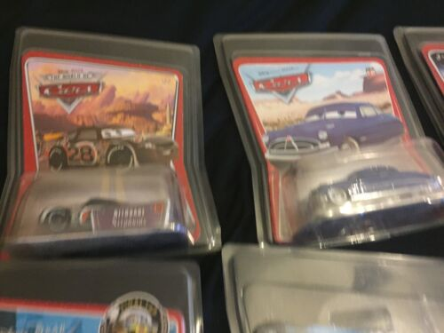 Disney Pixar Cars Carte de protection PROTECTORS CASE 1:55 Diecast Voiture Keep Safe