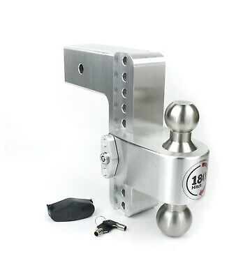 """With WS-05 keyed alike lock Weigh Safe 180 Hitch 8-Inch Drop LTB8-3 3/"""" Shaft"""