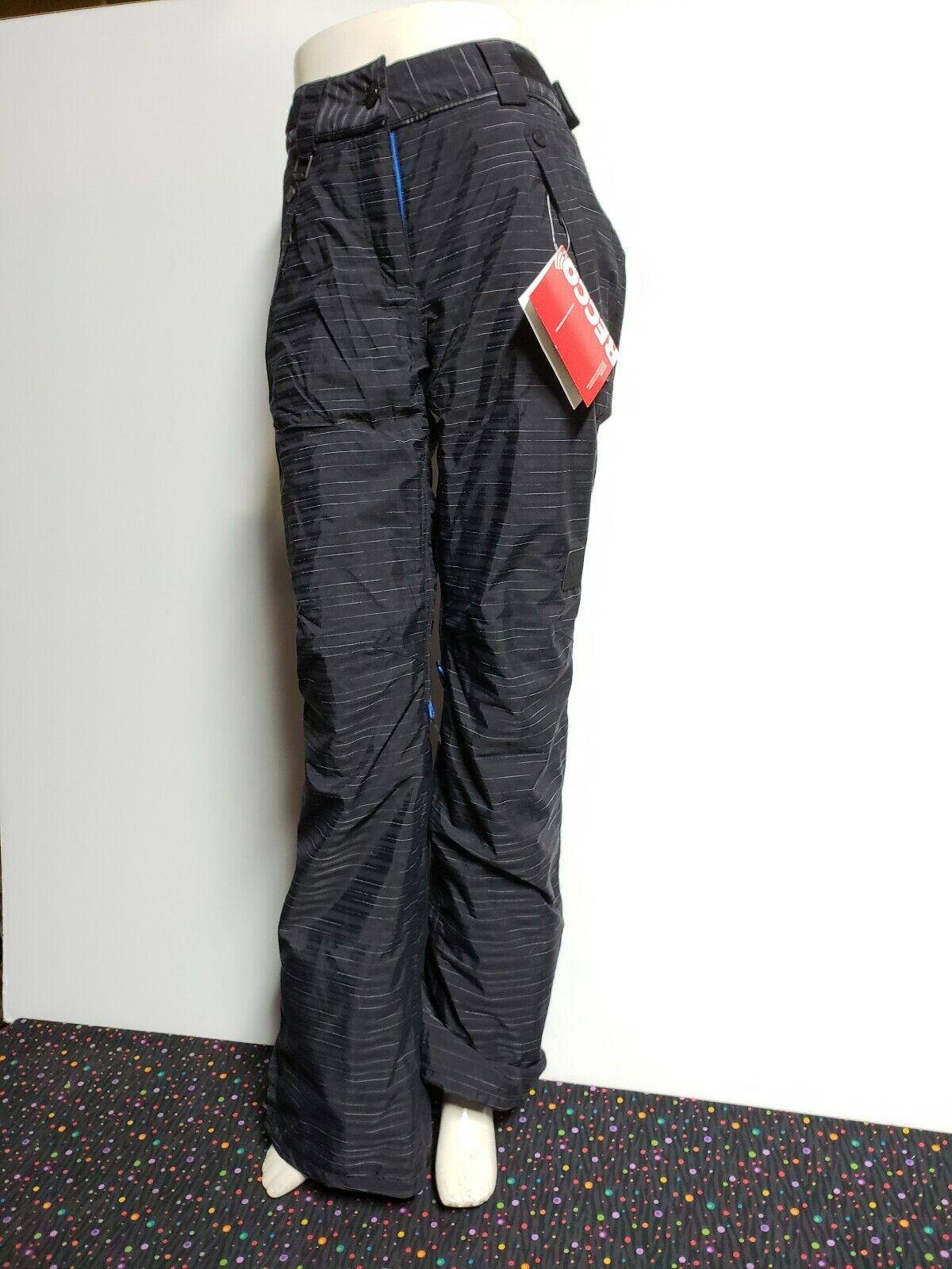 Adidas W SLUB STRIPE P G88910 Snowboarding Pants Women's Size S, RECCO, NWT